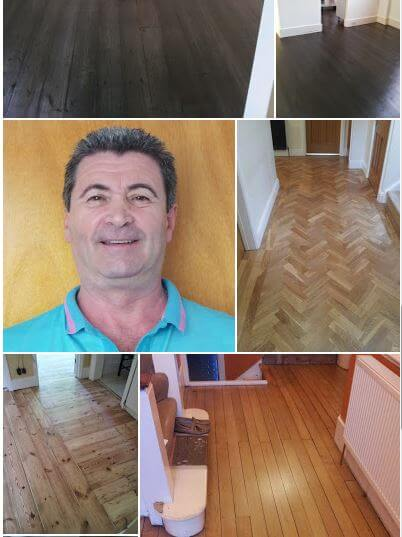 Vass, with some floors he has restored.