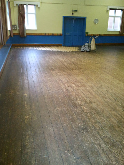 school floor. Use Floor Renovations For School Sanding And Hall In London