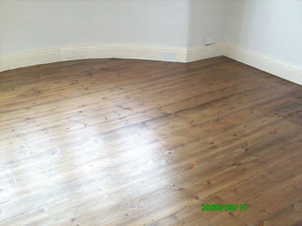 Floor sanding  - after